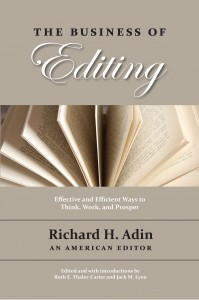 The Business of Editing cover